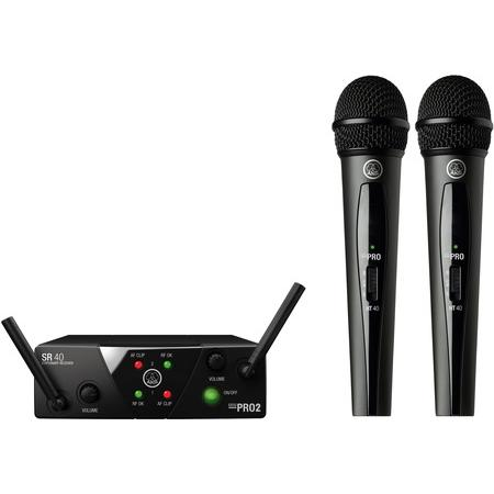 Kézi - AKG - WMS 40 Mini Dual Vocal