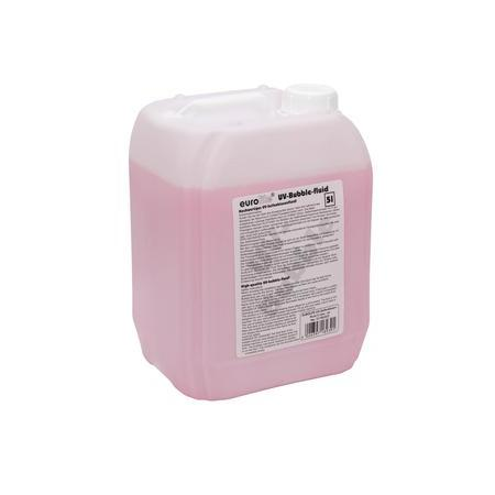 Effektanyagok - Eurolite - UV Bubble Fluid 5L red
